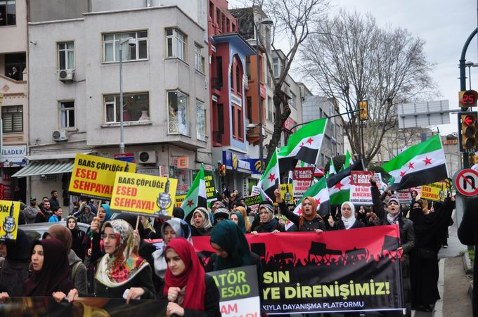 İstanbul'da Binler Suriye Cihadını Selamladı! 23