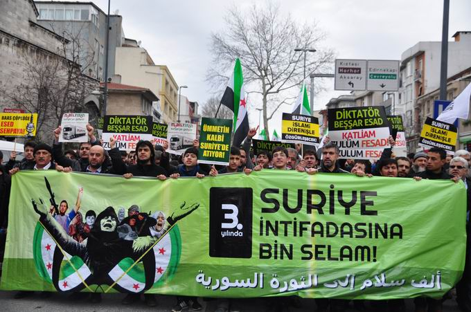 İstanbul'da Binler Suriye Cihadını Selamladı! 24