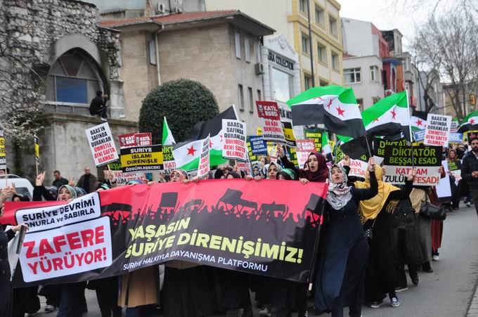 İstanbul'da Binler Suriye Cihadını Selamladı! 25