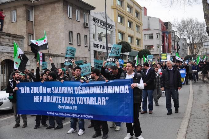 İstanbul'da Binler Suriye Cihadını Selamladı! 27
