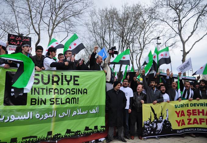 İstanbul'da Binler Suriye Cihadını Selamladı! 29