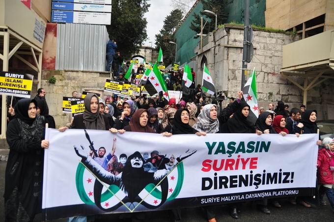İstanbul'da Binler Suriye Cihadını Selamladı! 3