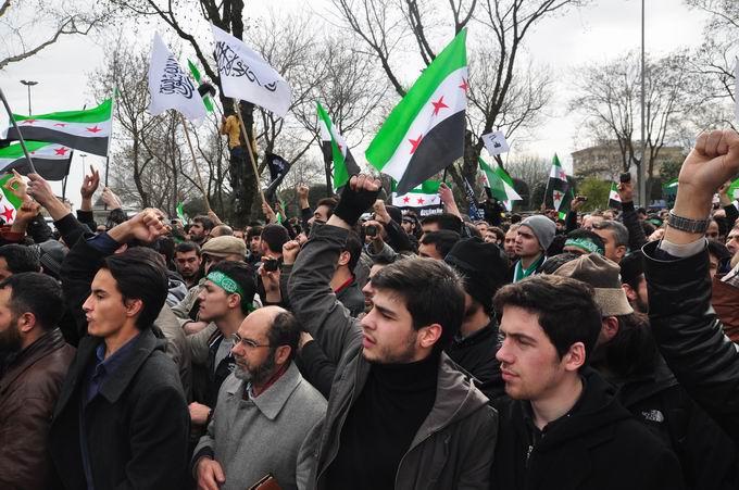 İstanbul'da Binler Suriye Cihadını Selamladı! 32