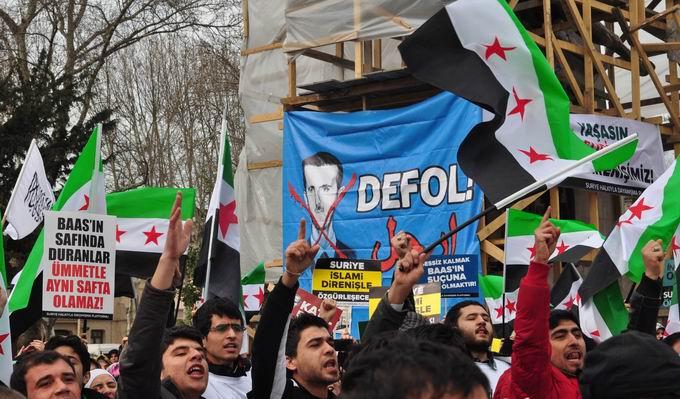 İstanbul'da Binler Suriye Cihadını Selamladı! 33