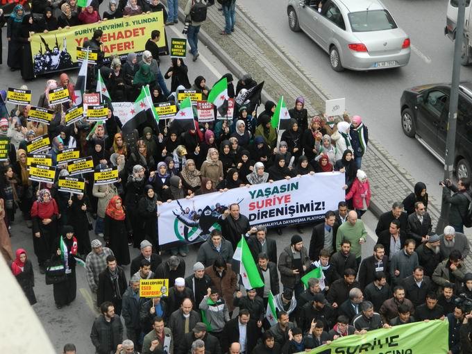 İstanbul'da Binler Suriye Cihadını Selamladı! 36