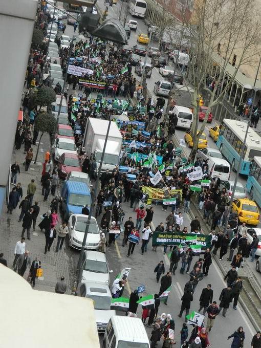 İstanbul'da Binler Suriye Cihadını Selamladı! 39