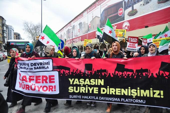 İstanbul'da Binler Suriye Cihadını Selamladı! 4