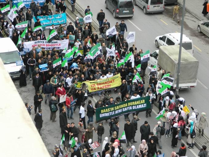 İstanbul'da Binler Suriye Cihadını Selamladı! 40