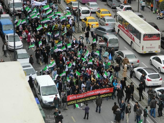 İstanbul'da Binler Suriye Cihadını Selamladı! 41