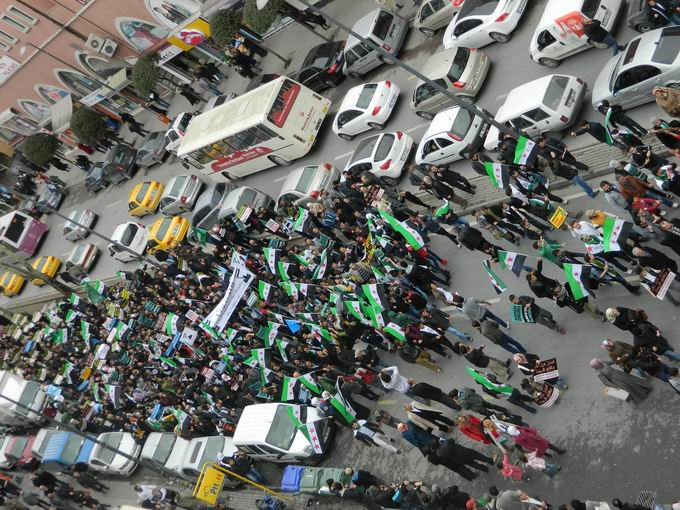 İstanbul'da Binler Suriye Cihadını Selamladı! 42