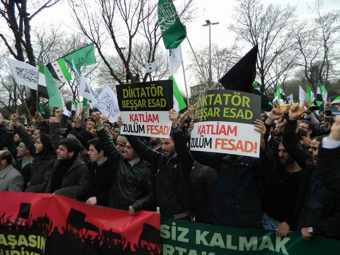 İstanbul'da Binler Suriye Cihadını Selamladı! 47