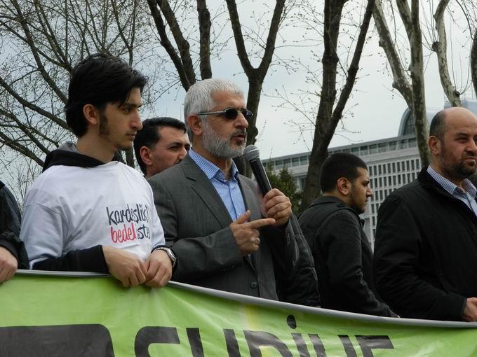 İstanbul'da Binler Suriye Cihadını Selamladı! 48