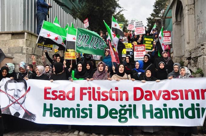 İstanbul'da Binler Suriye Cihadını Selamladı! 5