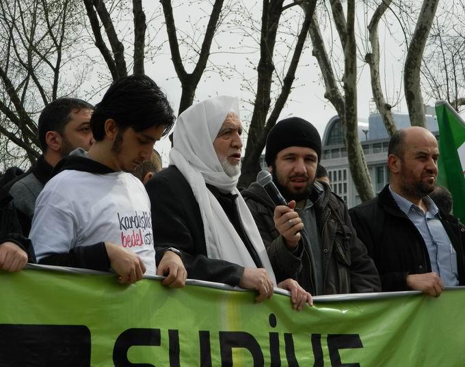 İstanbul'da Binler Suriye Cihadını Selamladı! 50