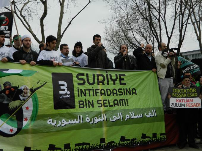 İstanbul'da Binler Suriye Cihadını Selamladı! 52