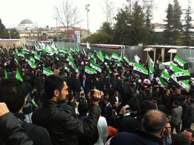 İstanbul'da Binler Suriye Cihadını Selamladı! 58