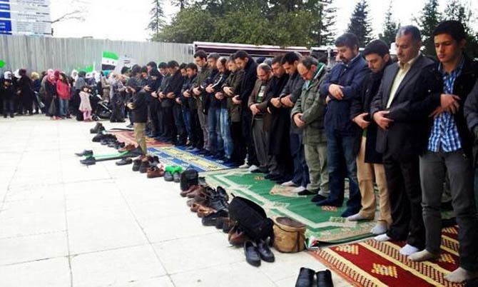 İstanbul'da Binler Suriye Cihadını Selamladı! 61