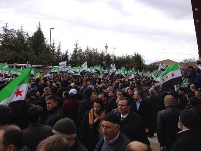 İstanbul'da Binler Suriye Cihadını Selamladı! 63