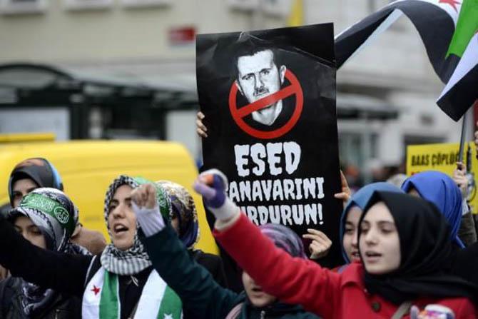 İstanbul'da Binler Suriye Cihadını Selamladı! 65