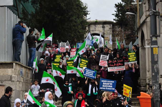 İstanbul'da Binler Suriye Cihadını Selamladı! 8