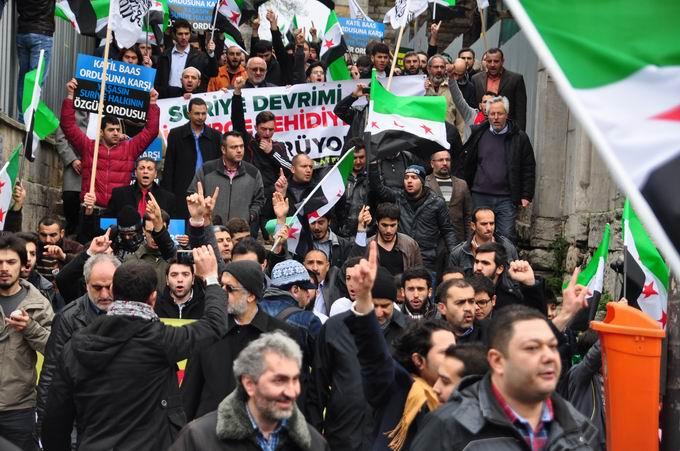 İstanbul'da Binler Suriye Cihadını Selamladı! 9