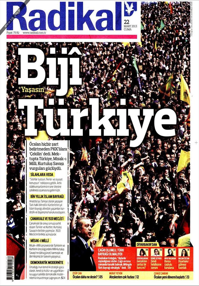 22 Mart 2013 - Günün Gazete Manşetleri 14