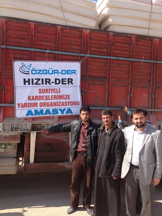 Amasyada Suriyeye Yardım 1