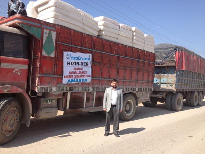 Amasyada Suriyeye Yardım 12