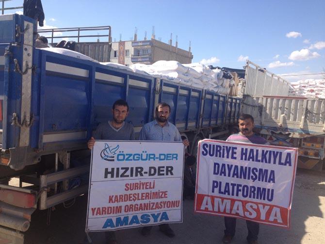 Amasyada Suriyeye Yardım 13