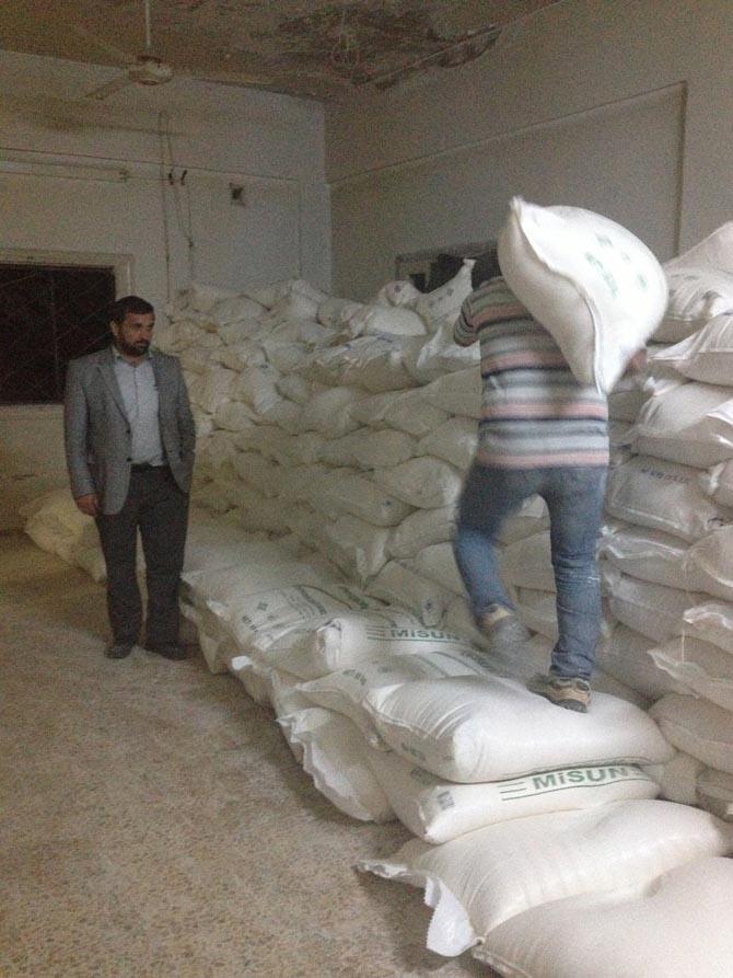 Amasyada Suriyeye Yardım 4