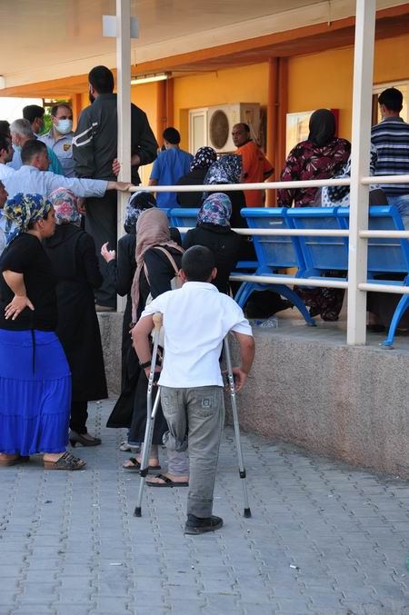 Türkiye-Suriye Sınırında Çocuklar Bombalandı!  6