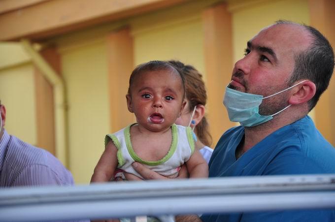 Türkiye-Suriye Sınırında Çocuklar Bombalandı!  7