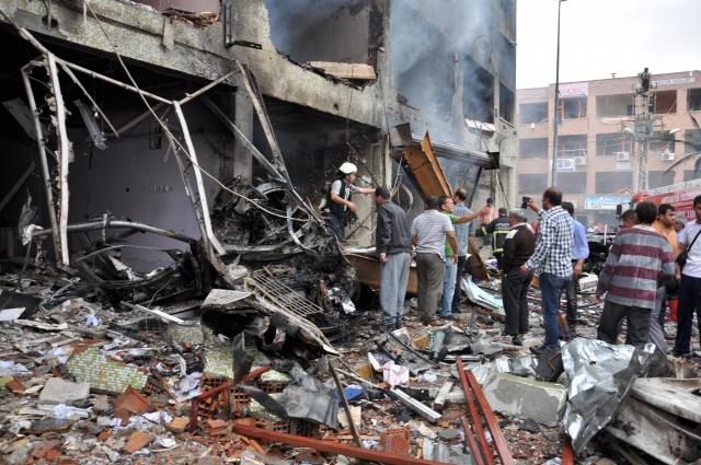 Reyhanlıda Patlama Meydana Geldi: 43 Ölü 12