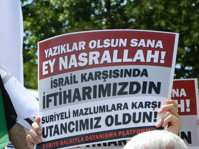 "Fatih Camii'nde Protesto:  ""Katil İran, Katil Hizbullah"" 26"