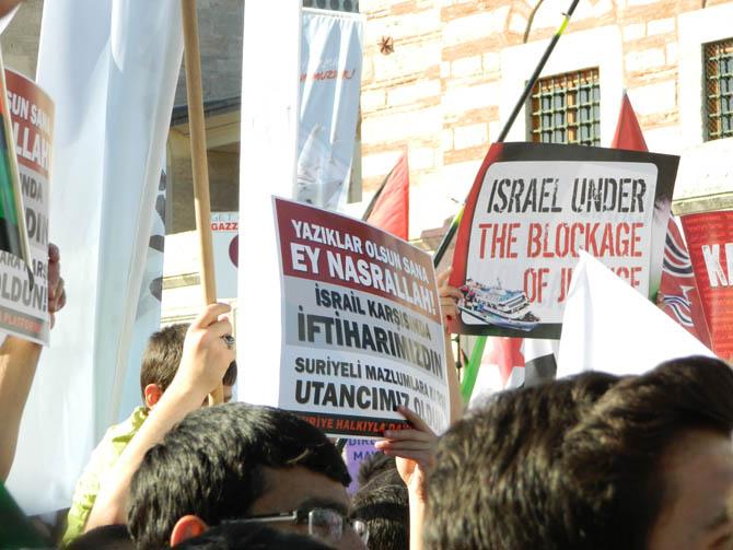 On Binler Fatih'te Kudüs ve Mavi Marmara İçin Yürüyor 3
