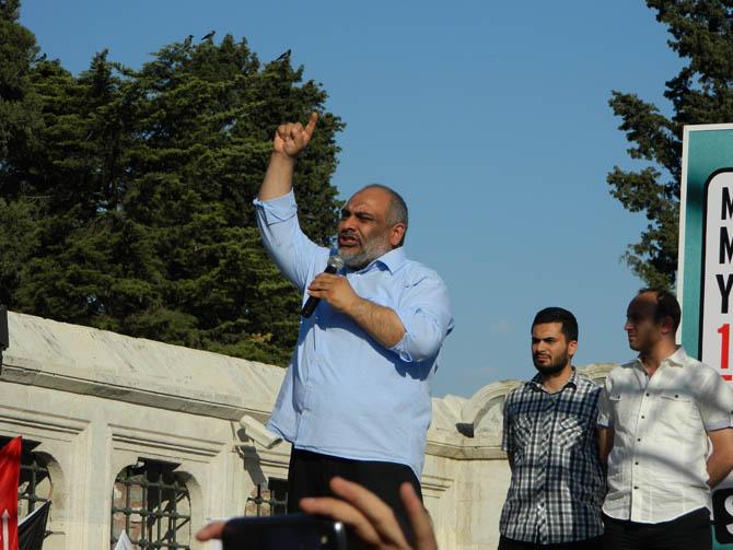 On Binler Fatih'te Kudüs ve Mavi Marmara İçin Yürüyor 5