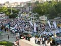 On Binler Fatih'te Kudüs ve Mavi Marmara İçin Yürüyor