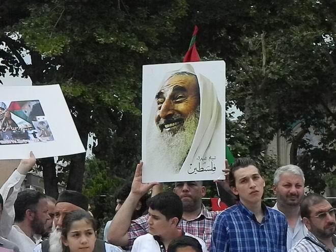 """Fatih'te """"Kudüs'e Küresel Yürüyüş"""" Eylemi 13"""