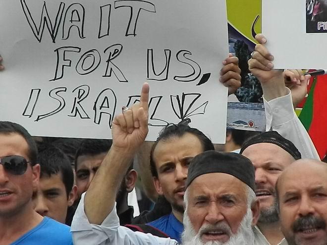 """Fatih'te """"Kudüs'e Küresel Yürüyüş"""" Eylemi 24"""