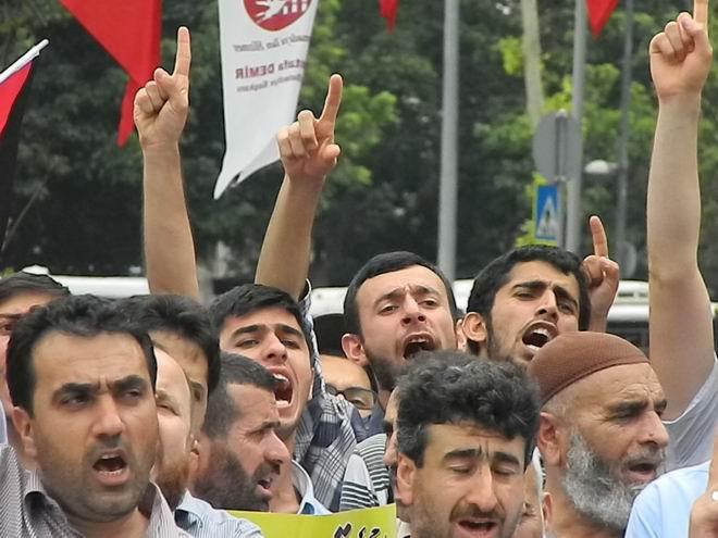"""Fatih'te """"Kudüs'e Küresel Yürüyüş"""" Eylemi 25"""