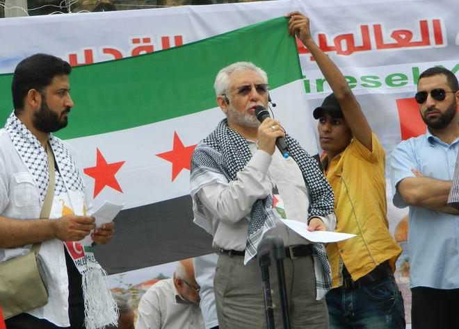 """Fatih'te """"Kudüs'e Küresel Yürüyüş"""" Eylemi 32"""