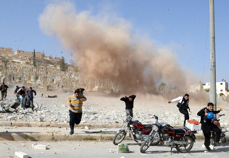 Fotoğraflarla Suriye'de Direniş ve Esed Zulmü 28