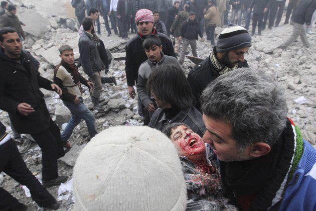 Fotoğraflarla Suriye'de Direniş ve Esed Zulmü 3