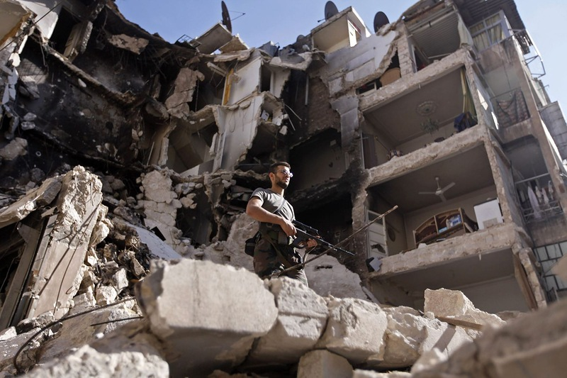 Fotoğraflarla Suriye'de Direniş ve Esed Zulmü 35