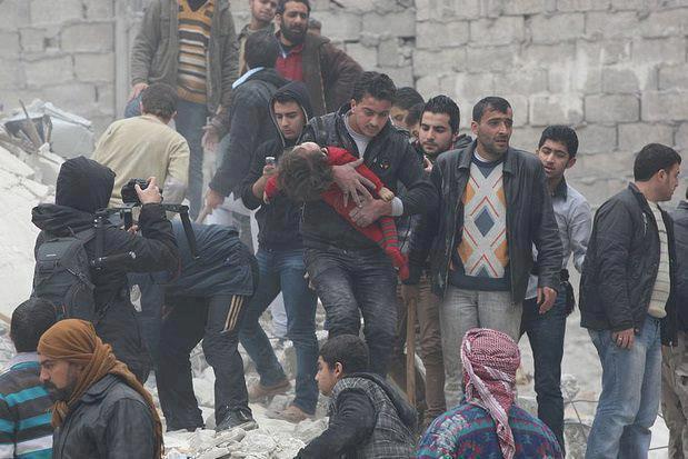 Fotoğraflarla Suriye'de Direniş ve Esed Zulmü 61