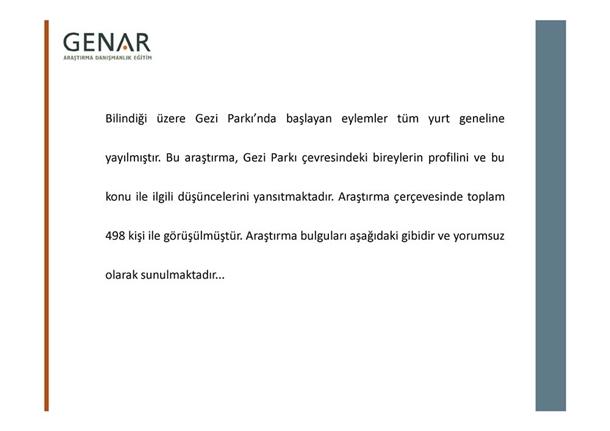 Taksim Gezi Parkı Anketi galerisi resim 1