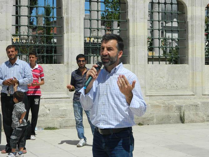 Suriye Şehidi Bahtiyar İçin Fatih'te Cenaze Namazı 12