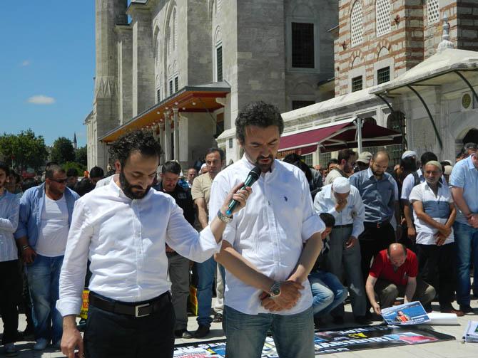 Suriye Şehidi Bahtiyar İçin Fatih'te Cenaze Namazı 14