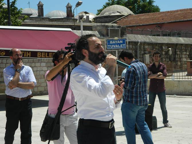Suriye Şehidi Bahtiyar İçin Fatih'te Cenaze Namazı 3
