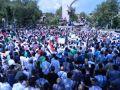 Fatihte Binler Mısır Katliamını Lanetledi